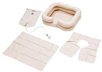 """Комплект для мытья головы """"Armed"""": ванна надувная, емкость для воды, защитный фартук"""